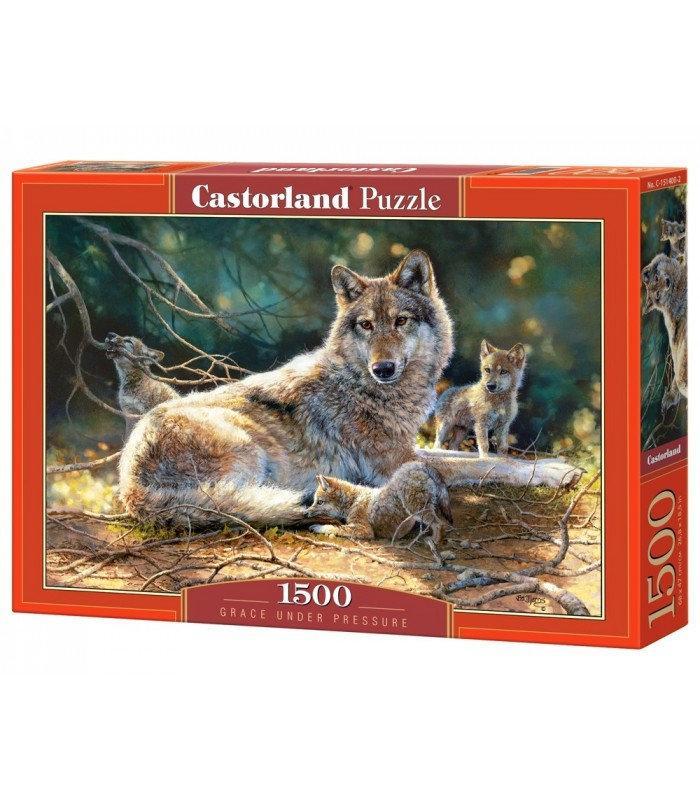 Пазлы Castorland Волки в лесу 1500 элементов