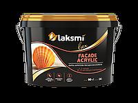 Фасадная краска Facade Acrylic LUX 2,5 л Универсальная полуматовая на основе чистого акрилата