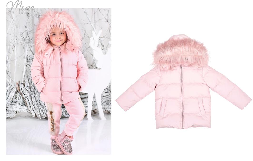Зимняя куртка для девочки тм Моне р-ры 104,116