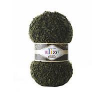 Пряжа букле Alize Naturale Boucle 6055 (нитки для вязания Ализе Натурель Букле)