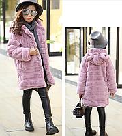 Стильне пальто - осінь/зима / осенне-зимняя детская верхняя одежда пальто-кардиган для девочек детская одежда
