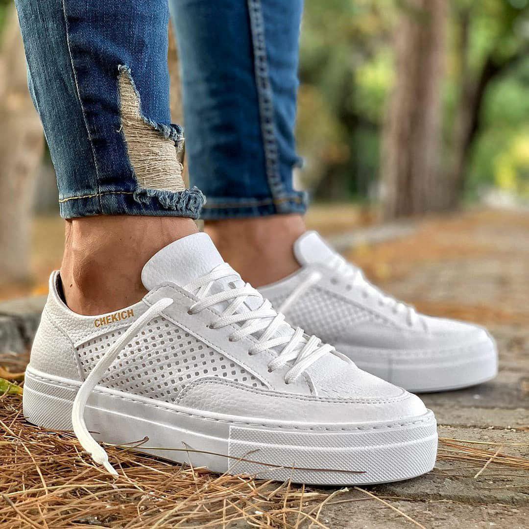 Чоловічі кросівки Chekich CH015 White