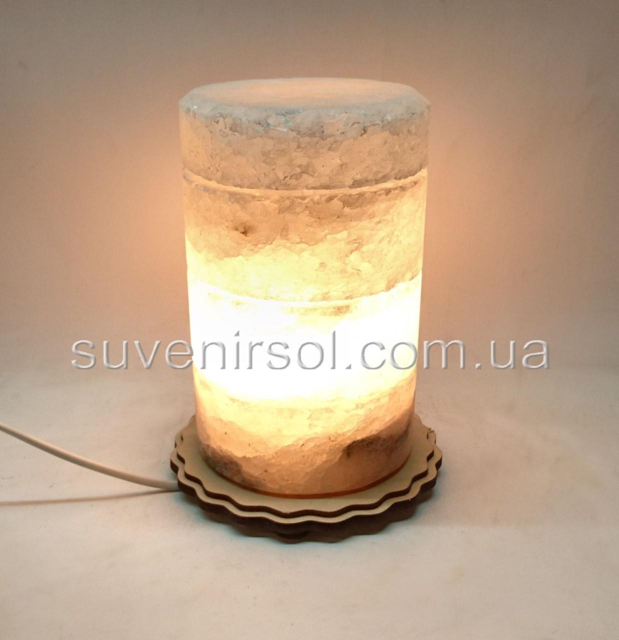 Соляной светильник Цилиндр ЦД12
