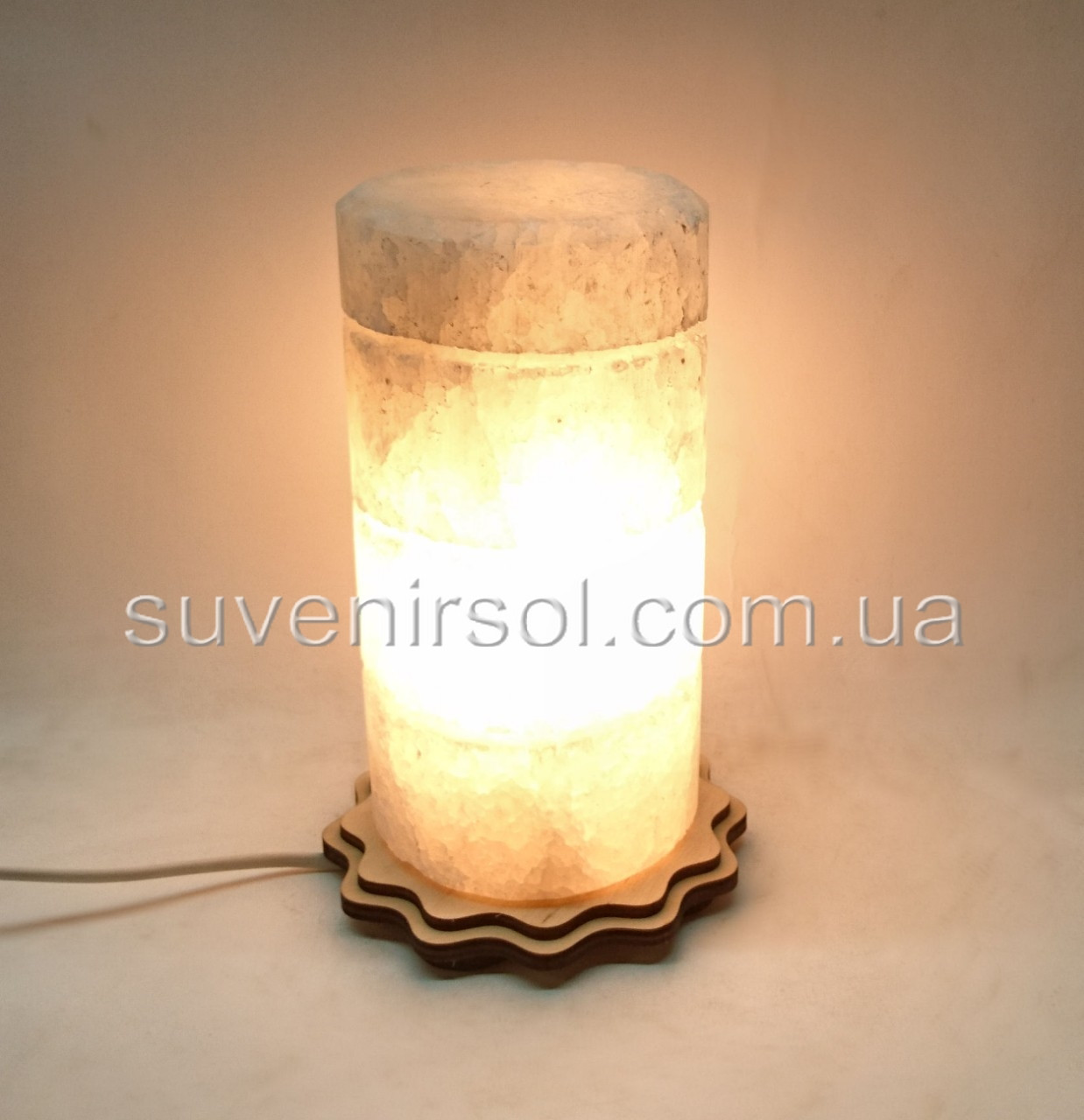 Соляной светильник Цилиндр ЦД10