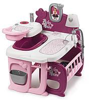 Игровой набор Центр по уходу за куклой Smoby Baby Nurse Прованс Фуксия 220349