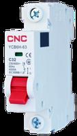 Модульний автоматичний вимикач YCB6Н-63, 1Р, 32А, 4,5kA, тип С