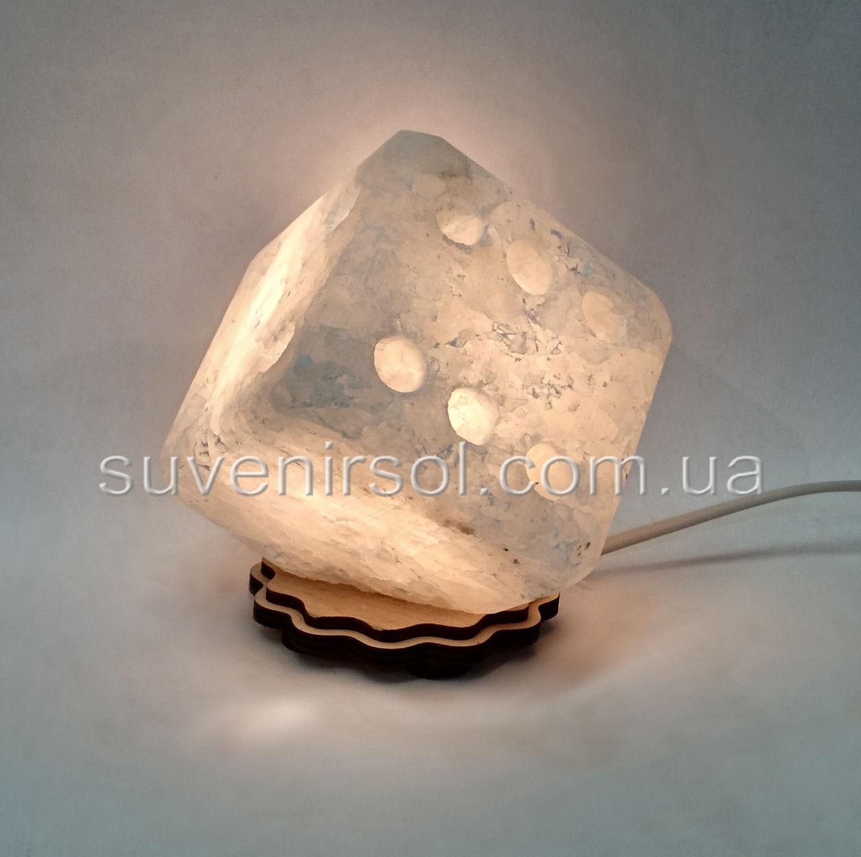 Соляной светильник Маленький кубик
