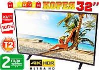 "Изогнутый 4K телевизор SONY 32"" UHDTV,LED, T2, Curved TV 3840x2160, КОРЕЯ"