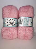 Nako Super Mohair - 118  рожевий