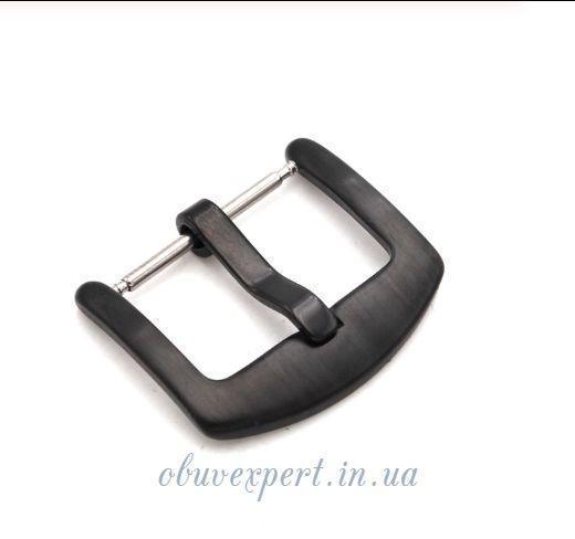 Пряжка для ремешка часов 18 мм Черный