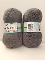 Nako Super Mohair - 1345  темно сірий