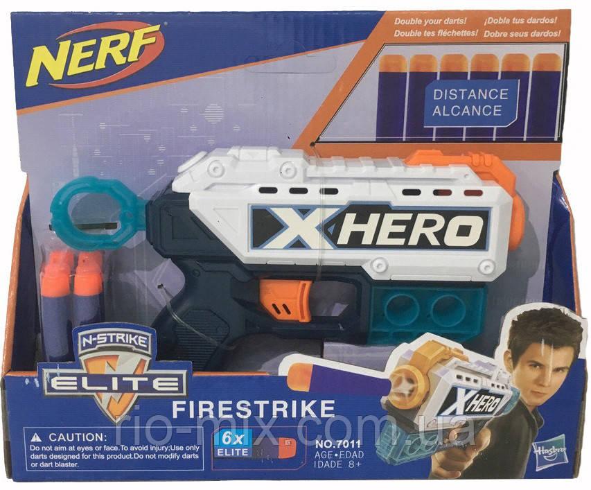 Бластер Nerf Elite X-Hero, фото 1