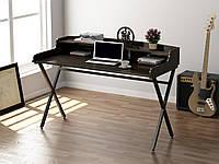 Письменный стол Loft design L-10 Венге Корсика. Комп'ютерний стіл для дому та офісу