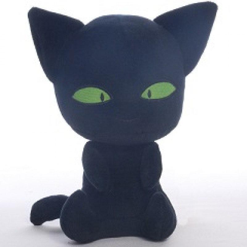 Мягкая игрушка Супер Кот черный,  Украина 25076-20