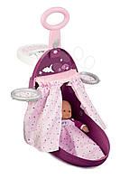 Раскладной чемодан для куклы игровой набор Baby Nurse Smoby Прованс Фуксия 220346