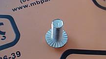 826/01080 Болт крепления конической пары на JCB 3CX, 4CX, фото 3