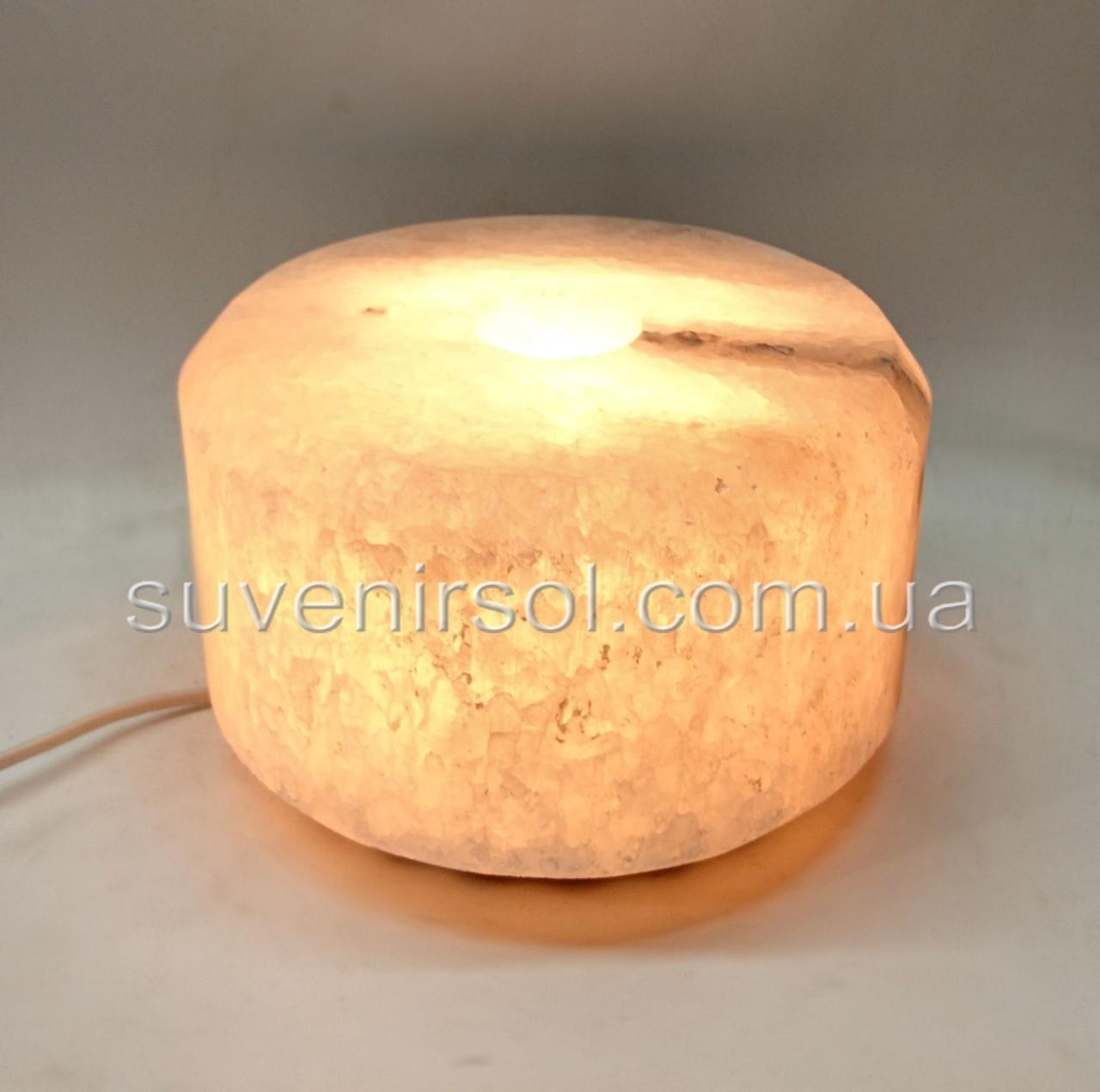 Соляной светильник Шайба  Арома