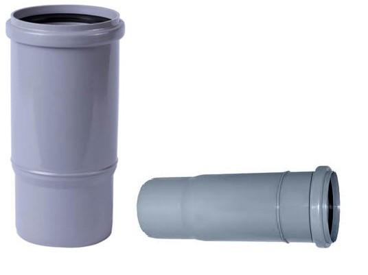 Компенсатор для внутренней канализации Инсталпласт 110 (серый)
