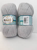 Nako Super Mohair  - 1355  світло сірий