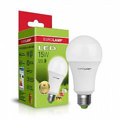 EUROLAMP LED Лампа ЕКО серія  A70 15W E27 3000K (50)
