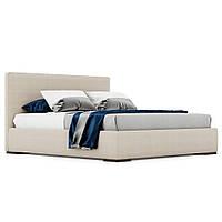 Кровать двуспальная с мягким изголовьем Delavega K8, под заказ (Киев)