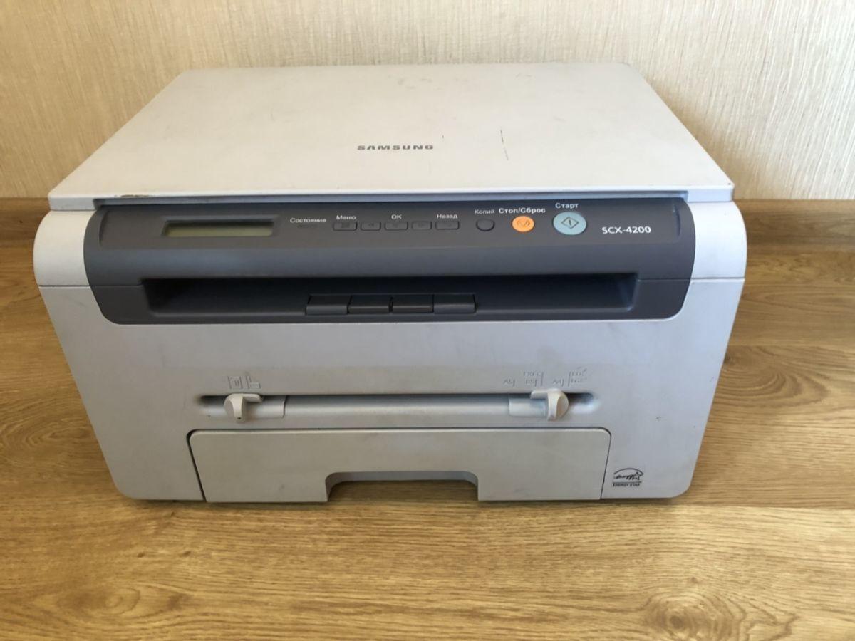 Принтер, Samsung SCX-4200