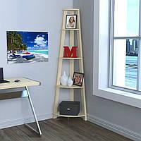 Стеллаж угловой Loft design L-180 Дуб Борас для дома и офиса