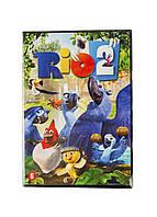 """DVD-диск мультфильм """"Рио 2"""" WB Uni Не определен"""