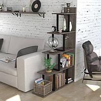 Стеллаж-перегородка Loft Design L-160 Дуб Палена для дома и офиса