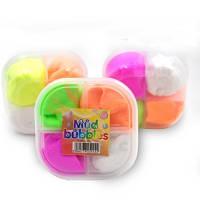 Детская игрушка, Слаймы воздушные, мягкий пластилин на 4 цвета