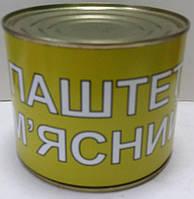 """Паштет м'ясний ж/б 525г """"Здорово"""" (1/24)"""