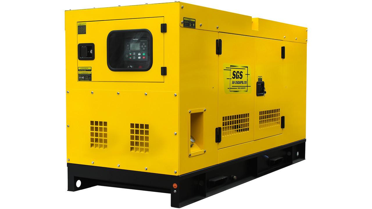 Генератор дизельный 220/380, 69,5кВт, безщёточный, SGS 50-3SDAPB.170