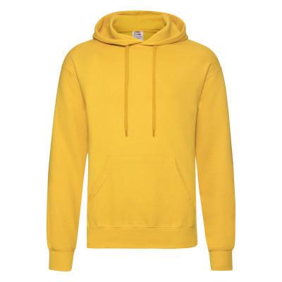Капюшонка молодежная на флисе (зимняя) желтого цвета - M, L, XL