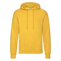 Капюшонка молодежная на флисе (зимняя) желтого цвета - M, L, XL, фото 1