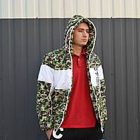 Зимняя мужская куртка в стиле Bape x Adidas | ТОП Качество!!, фото 1