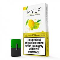 Картриджи Myle Pods Sweet Mango Сладкий Манго 5% Никотина 4 Шт. (M1)