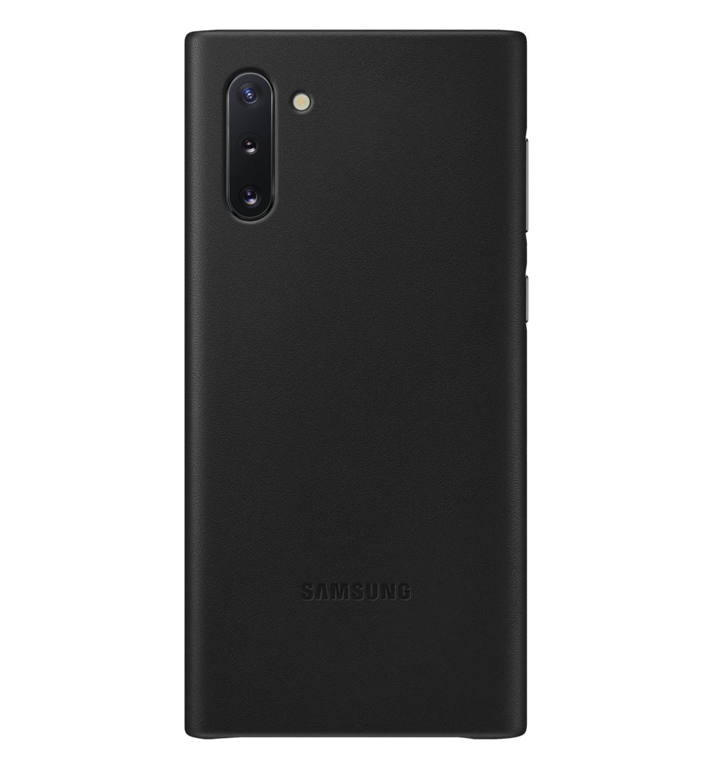 Чехол Leather Cover для Samsung Galaxy Note 10 (N970) EF-VN970LBEGRU - Black