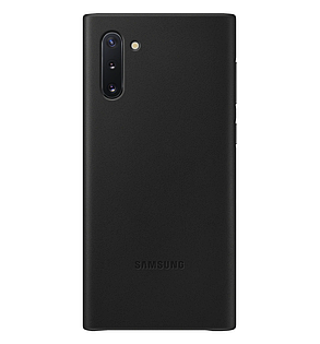 Чехол Leather Cover для Samsung Galaxy Note 10 (N970) EF-VN970LBEGRU - Black, фото 2