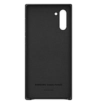 Чехол Leather Cover для Samsung Galaxy Note 10 (N970) EF-VN970LBEGRU - Black, фото 3