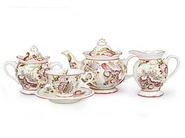 """Порцеляновий чайний сервіз """"Прімавера"""" Lefard 586-113"""