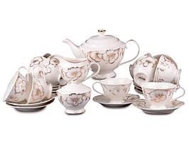 """Порцеляновий чайний сервіз на 12 персон """"Софія"""" Lefard 418-234"""
