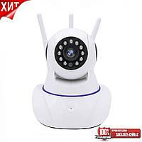 Камера видеонаблюдения IP Q5 (GK-100AXF11) (3 антенны (hapsee), фото 1
