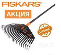 Грабли для листьев средние Fiskars Solid (L). Страна производитель Финляндия.