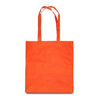 Эко-сумка оранжевая из спанбонда (38х40 см.), 80 г/м2, фото 1