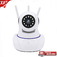 Камера видеонаблюдения IP Q5 (GK-100AXF11) (3 антенны (hapsee)