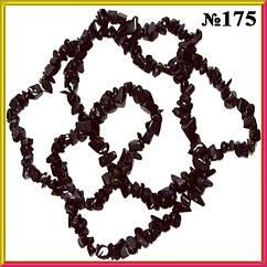 Бусины Сколы Камня Авантюрин Каир Синтетический, Размер: 4-6*2-4 мм., Отвер. 1мм, около 82 см. нить
