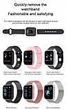 Смарт часы smart watch T80 черный с тонометром, фото 5