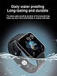 Смарт часы smart watch T80 черный с тонометром, фото 3
