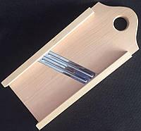 Ручная шинковка для капусты с двумя ножами.