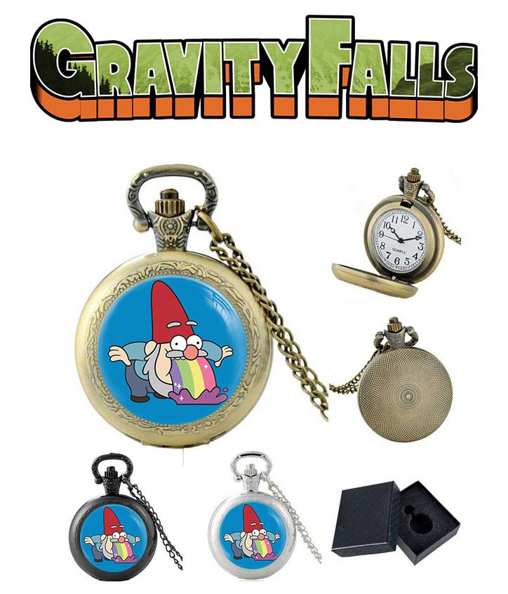 Карманные часы Гном и радуга Гравити Фолз / Gravity Falls